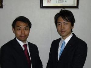 小泉進次郎先生と
