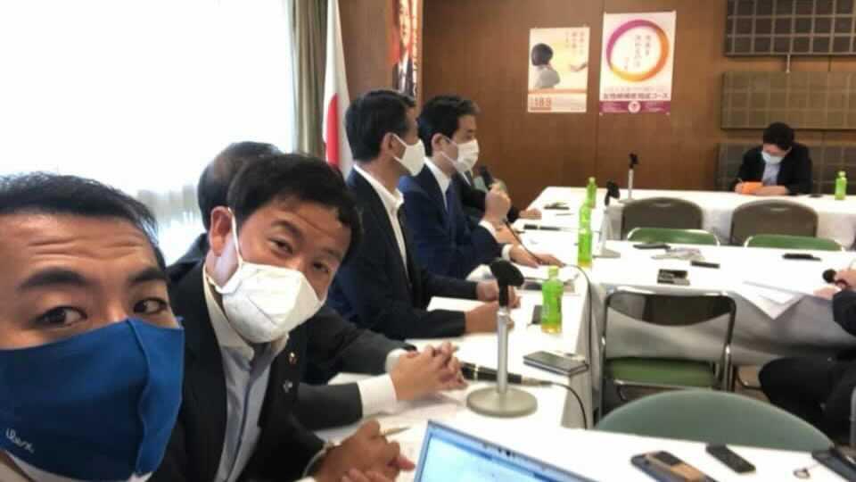 党風一新会の役員会に参加しました。